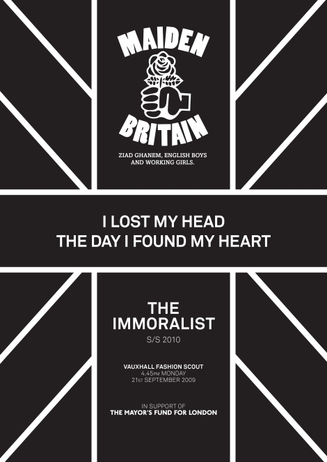 Immoralist Show poster